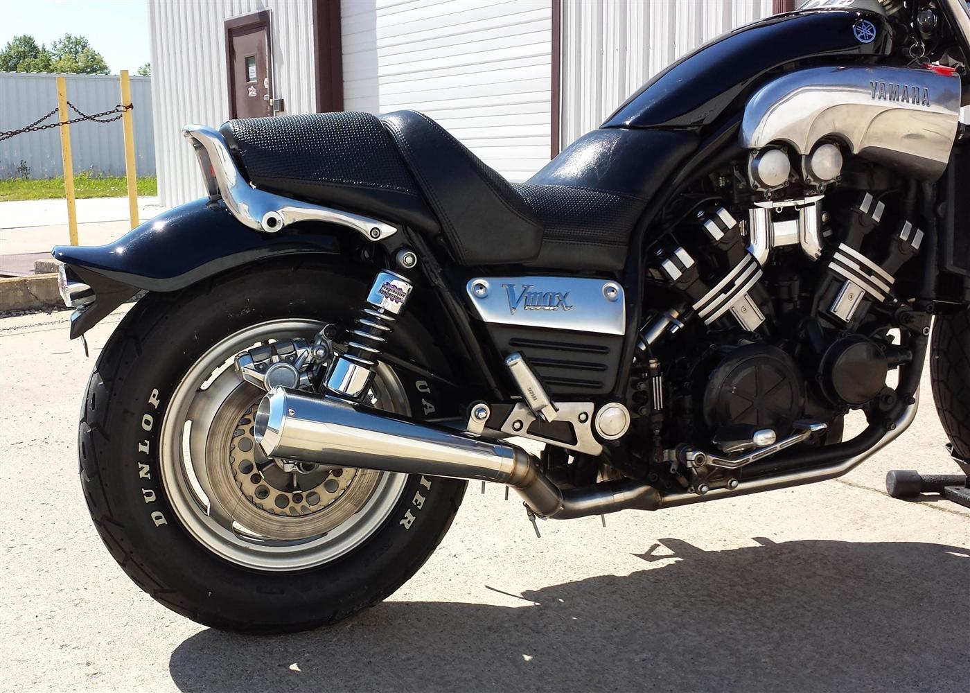 2004-2005 Kawasaki ZX-10R Exhaust VooDoo Shorty Slip On Muffler Polished