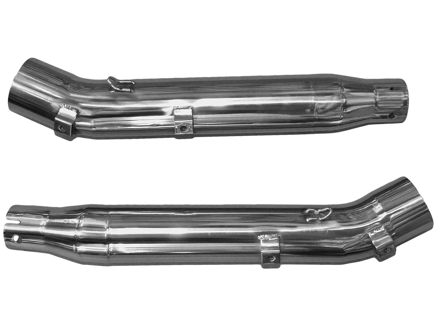 Exhaust Pipes Honda Cbr600rr Series Slip On M 2 Carbon Fiber Canister Hitam